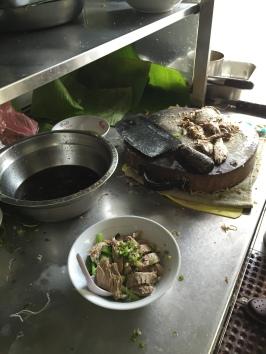 Bihun Bebek gw sedang dibuat:)