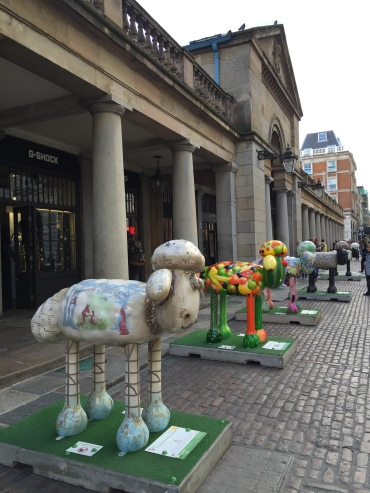 Shaun The Sheep bertebaran