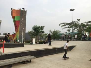 Area Skateboard dan In Line Skate